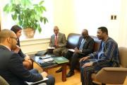 Visite de l'ambassadeur Athanase Boudo à Québec